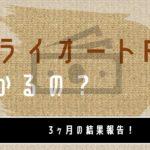 【3ヶ月目】FX初心者がトライオートFXで50万円で運用してみた実績公開【FX自動売買】